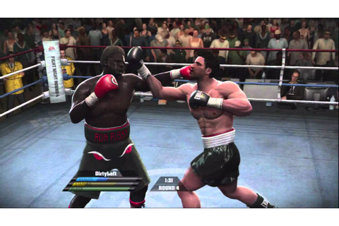 Fight night round 4 online match 5/20 boxing xbox 360 ...