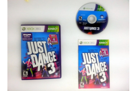 Just Dance 3 game for Xbox 360 (Complete) | The Game Guy