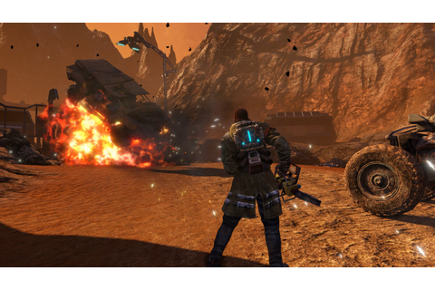 Red Faction: Guerrilla Re-Mars-tered Announced - IGN