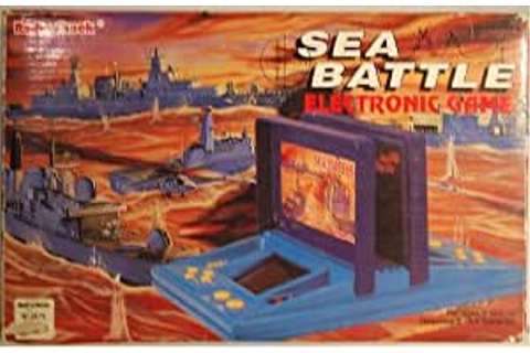 Amazon.com: Sea Battle Electronic Game: Toys & Games