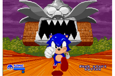 segasonic the hedgehog arcade « SEGADriven