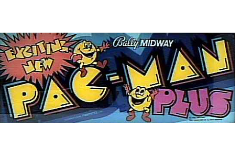 Pac-Man Plus - Videogame by Bally Midway
