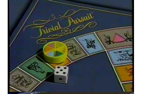 1985 Trivial Persuit Board Game TV Commercial - YouTube