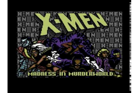 X-Men: Madness in Murderworld (Commodore 64) [Full ...