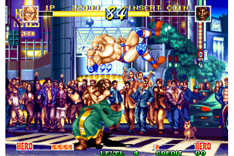 Play World Heroes Perfect SNK NEO GEO online | Play retro ...
