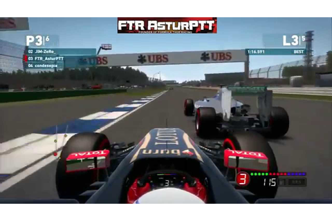 F1 2014 Game | Online #2 | PS3 Codemasters - YouTube