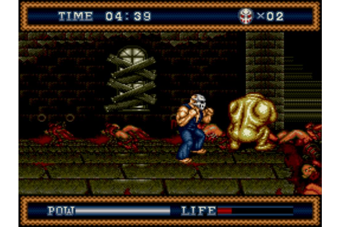 Sega Scrutiny: Genesis Game Reviews: Splatterhouse 3