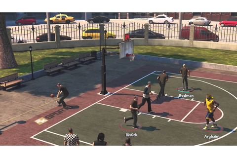 NBA 2K14 Xbox One The Park #1 3 Vs 3 Street Basketball ...