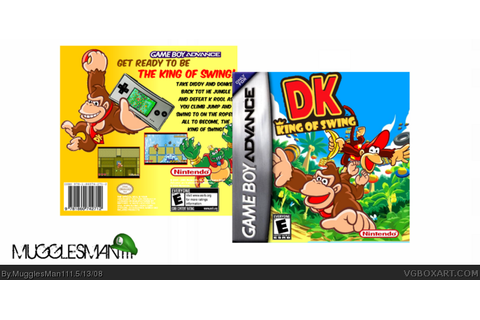 DK: King Of Swing Game Boy Advance Box Art Cover by ...