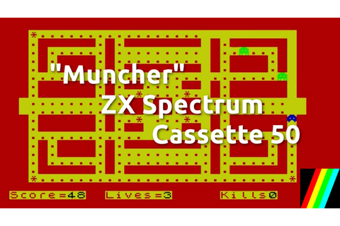 Muncher (ZX Spectrum Cassette 50 Game 1) - YouTube