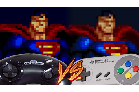 Sega Genesis Vs Super Nintendo - The Death and Return of ...