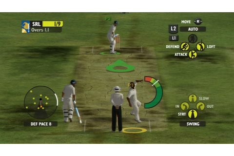 Ashes Cricket 2009 [PS3 Game] 2,4GB - Mediafire - Download ...
