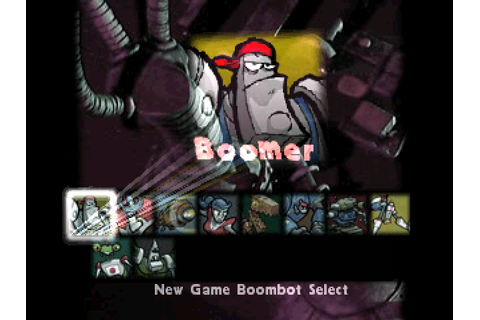 Boombots (USA) PSP Eboot - CDRomance