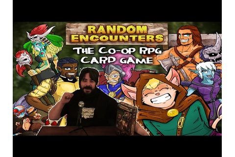 Random Encounters - Tabletop Game Review - YouTube