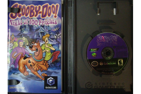 Scooby- Doo , Night Of 100 Frights - Game Cube - $ 299.00 ...
