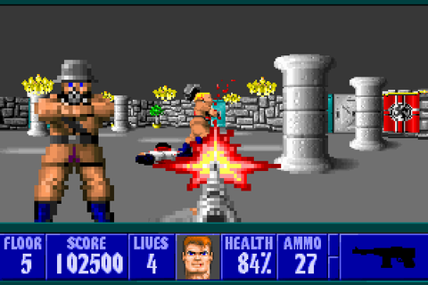 Wolfenstein 3D (1992, PC, MSDOS) - GameTripper review