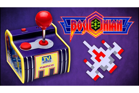 Bosconian - Namco Plug In Play: Port Gameplay - YouTube