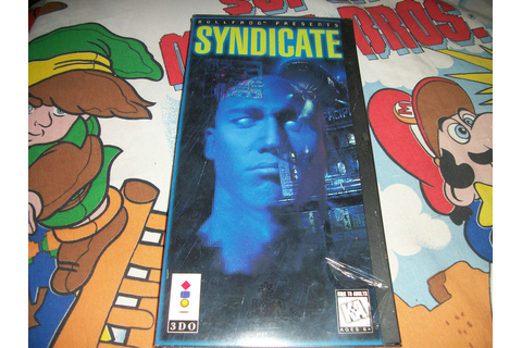 NEW Syndicate Panasonic 3DO Game SEALED Classic RARE ...