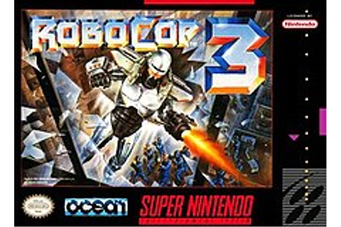 RoboCop 3 (video game) - Wikipedia