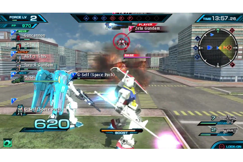 Mobile Suit Gundam Extreme VS-Force - Images & Screenshots ...