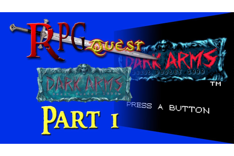 RPG Quest #214: Dark Arms: Beast Buster 1999 (NGPC) Part 1 ...