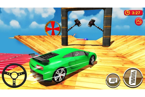 Car Driving & Racing On Crazy Sky Tracks (by CrAzy Games ...