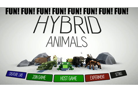 HYBRID ANIMALS!!! REALLY FUN GAME ON STEAM!!! FIRST LOOK ...