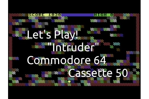 Intruder (Commodore 64 Cassette 50 Game 32)