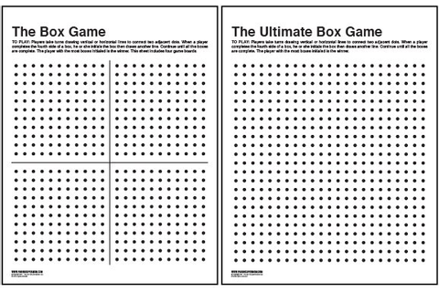The Box Game Printable - Paging Supermom