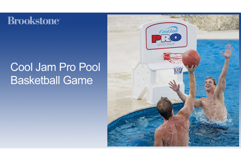 Cool Jam Pro Pool Basketball Game - YouTube