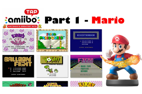 Let's Play amiibo Tap: Nintendo's Greatest Bits - Part 1 ...