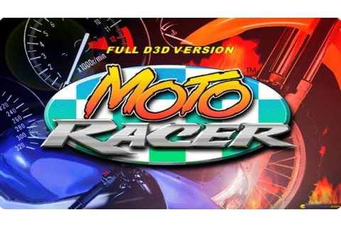Moto Racer gameplay (PC Game, 1997) - YouTube
