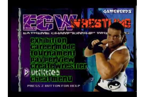 ECW Hardcore Revolution Review(N64) - YouTube