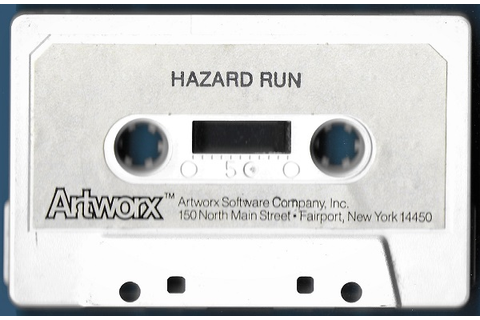 Atari 400 800 XL XE Hazard Run : scans, dump, download ...