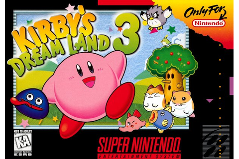 Kirby's Dream Land 3 (SNES / Super Nintendo) News, Reviews ...