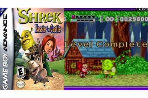 Shrek: Hassle at the Castle [03] GBA Longplay - YouTube