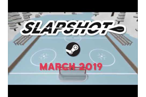 Slapshot - New PC Hockey Game Steam Launch Trailer - YouTube