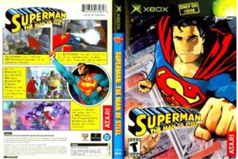 Superman the Man of Steel Microsoft XBOX COMPLETE Case ...