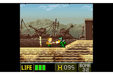 Play Metal Slug – 2nd Mission (World) (En, Ja) | Mission ...