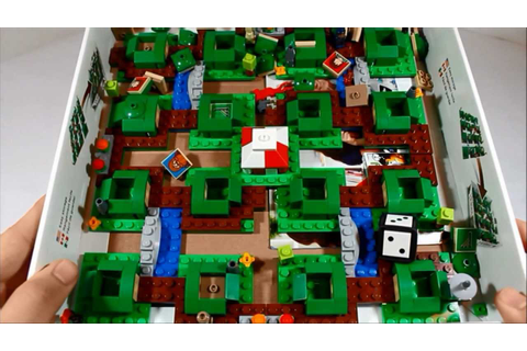 Lego The Hobbit : An Unexpected Journey Board Game Review ...