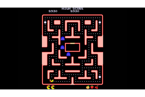 Ms. Pac-Man (1982) - Gameplay - YouTube