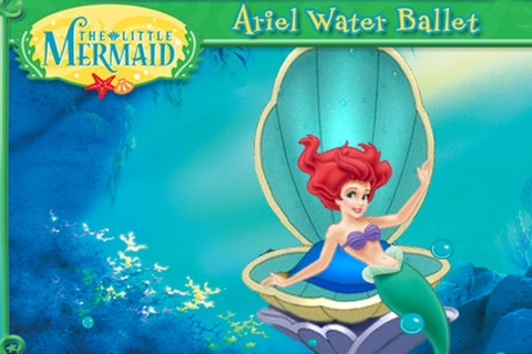 The Little Mermaid Ariel Water Ballet Game - Disney games ...