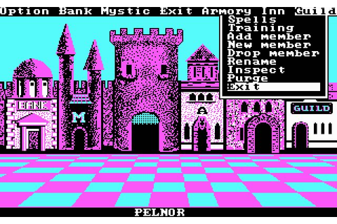 Download Phantasie 1 rpg for DOS (1987) - Abandonware DOS