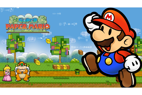 Super Paper Mario Full HD Wallpaper and Hintergrund ...