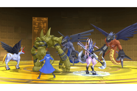 Digimon Story: Cyber Sleuth – Hacker's Memory on PS Vita ...