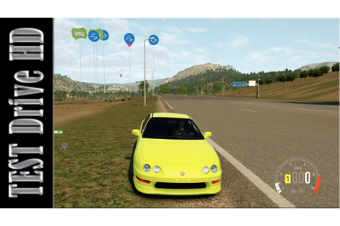 Acura Integra Type-R - 2001 - Forza Horizon 2 - Test Drive ...