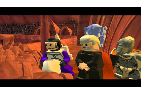 LEGO Star Wars: The Video Game All Cutscenes - YouTube