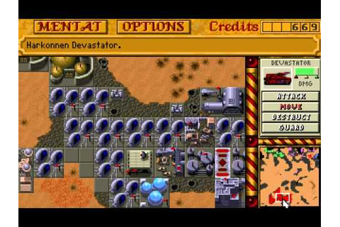 DOS - Dune II: The Building of a Dynasty - Harkonnen ...
