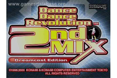Dance Dance Revolution 2nd Mix - Sega Dreamcast - Games ...