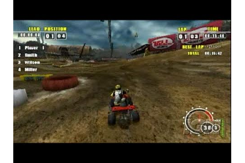 ATV Offroad Fury Pro Sony PSP Gameplay - Wrangling hills ...